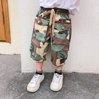 Boys Camouflage Five Pants Children's Summer Pants Thin Men's Ocean 3 8 Years Child Baby pant