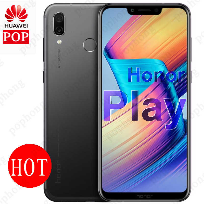 Global Version Optional Huawei Honor Play Game mobile phone 6.3inch Kirin 970 Octa Core GPU 2340x1080 Quick Charger 9V/2A