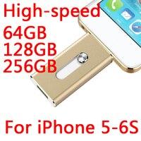 Лидер продаж смартфон 16 ГБ 32 ГБ 64 ГБ флешки OTG USB флэш-накопитель 512 ГБ подарок usb memory stick флэш-карты 128 ГБ для Iphone 5-8 P