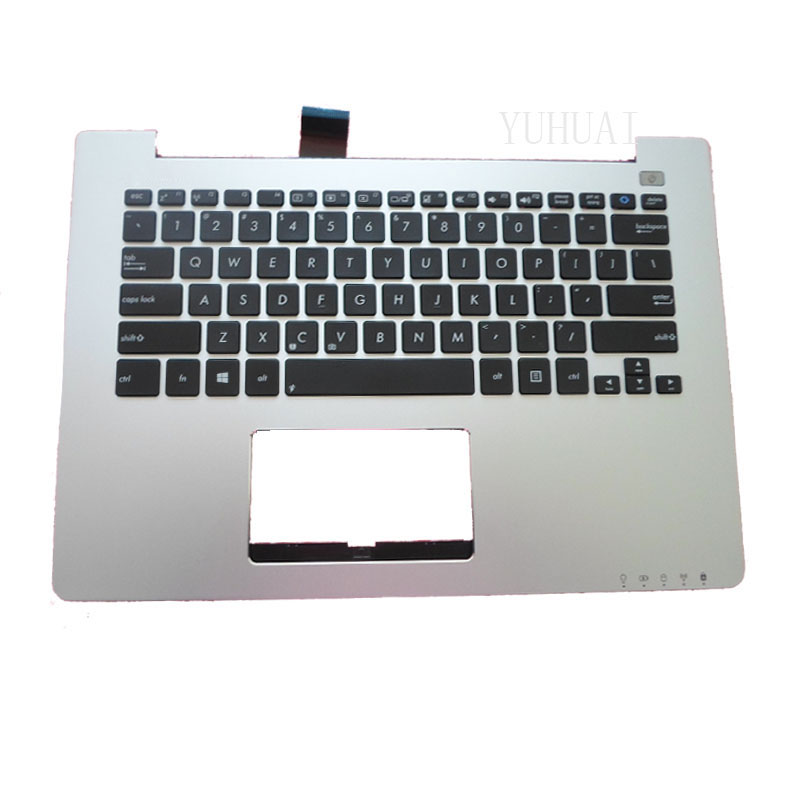 NEW Laptop keyboard For Asus S300 S300C S300SC S300K S300Ki With C Shell Palmrest Upper Series for asus mp 09h63us 528 0kn0 ei1us0212463002413 laptop keyboard