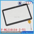 """Оригинальный 10,1"""" дюймовый сенсорный экран F-WGJ10154-J-V1. Стеклянная сенсорная панель для замены F-WGJ 10154. Бесплатная доставка"""