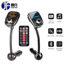 Новый MP3-плееры с Bluetooth fm-передатчик Беспроводной FM модулятор Автомобильный комплект с ЖК-дисплей Дисплей Батарея Напряжение Дисплей USB Зарядное устройство