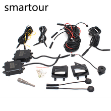 Smartour Car BSD BSA BSM Blind Spot Monitoring  Radar Detection System Microwave Sensor Assistant Car Driving Security Alarm цены онлайн