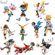 ФОТО Digimon Action Figures Wizarmon Gabumon Agumon Toys Pvc 110mm-135mm Anime Digimon Adventure Model Toy Japanese Anime Figures