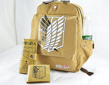 Hot Sale Anime Attack On Titan Backpack