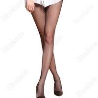 Hot 3pcs Women's Tight European Fashion Super Big Net Fish Net Pantyhose Long Stockings 074G 7GP1