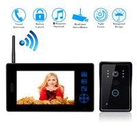7 Wireless Video Door Phone Doorbell Intercom System Home Security Camera Monitor Door Intercom Doorphone For