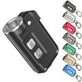 Topsale NITECORE TINI металлический брелок свет встроенный аккумулятор Перезаряжаемый кнопочный мини фонарик уличный Поиск Бесплатная доставка