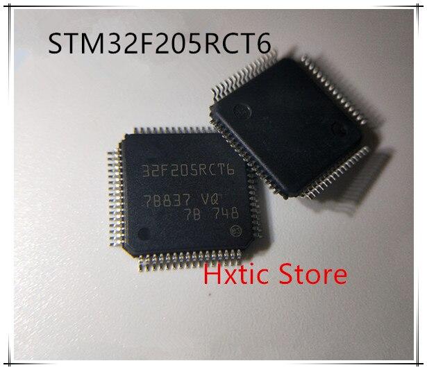 5pcs lot STM32F205RCT6 STM32F205RC STM32F205 32F205RCT6 LQFP 64