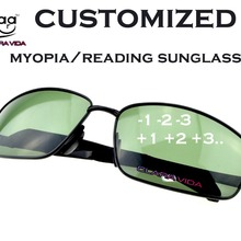 2019 Oculos Masculino =clara Vida Polarized Reading Sunglasses=large Dark Myopia