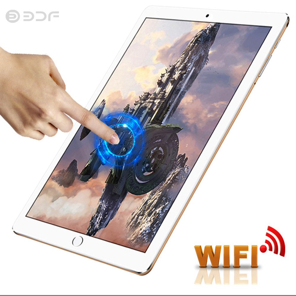New Arrive 10.1 Inch Tablet Pc Android 7.0 Google Phone Call Tablets Google Play GPS WiFi Bluetooth 10 Inch 2.5D Tempered Glass