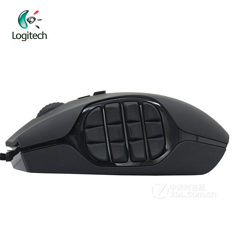 Logitech G600 Mmo Wired Gaming Mouse Laptop Pc Gamer Mouse 8200dpi