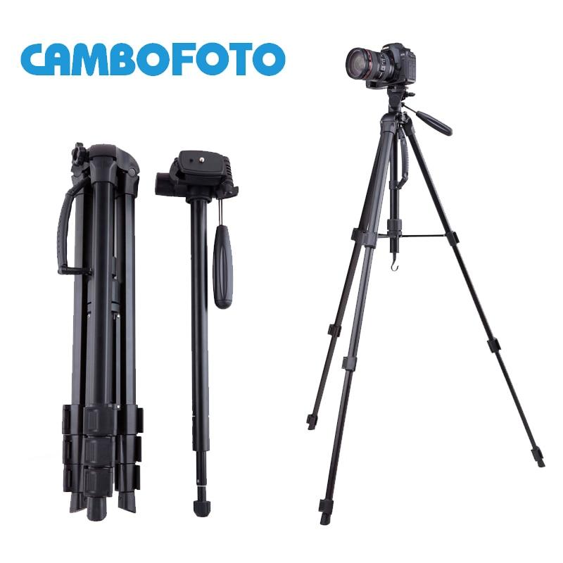 CAMBOFOTO Professional 176cm Travel Tripod Aluminium