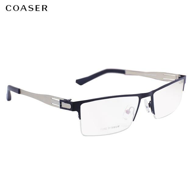 f937b73e2d7 Germany IC Quality Stainless Steel metal frame Glasses Men Square Myopia  prescription eyewear optical eyeglasses frame. placeholder ...