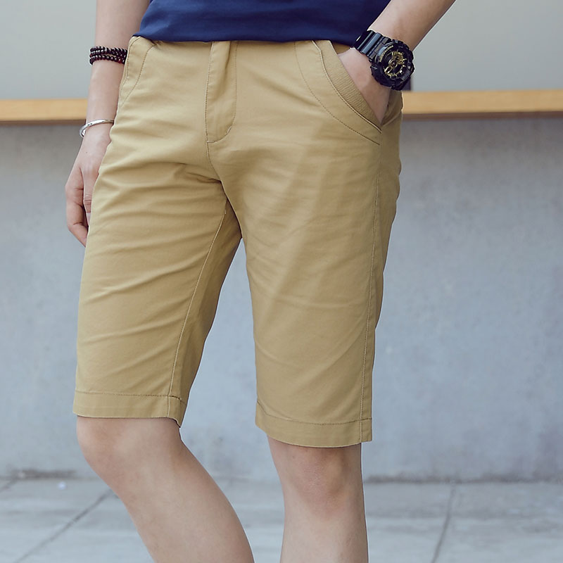 HCXY 2018 Summer high quality Mens Shorts Casual Bermuda Brand Male Solid Color Cotton Cargo Shorts Men Fashion Man Beach Short