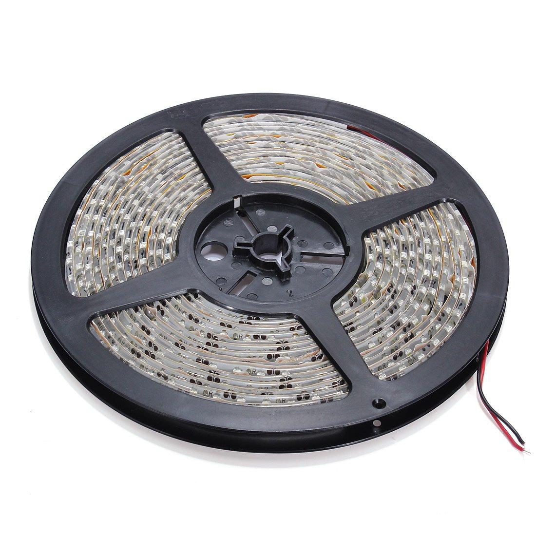 SODIAL (R) 5 м 600 SMD 3528 белый Водонепроницаемый Светодиодные ленты шатер полосы света холодный IP65