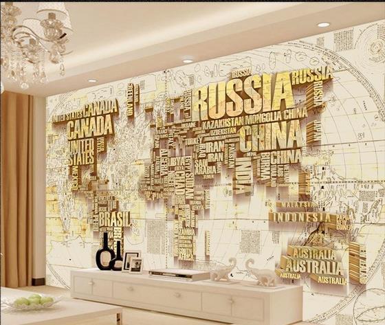 Custom 3d mural wallpaper tv backdrop world map 3d photo wallpaper custom 3d mural wallpaper tv backdrop world map 3d photo wallpaper 20156404 gumiabroncs Image collections