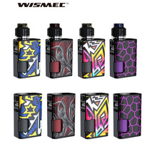Newest WISMEC Luxotic Surface 80W Squonk TC MOD/KIT w/ 6.5ml Squonk Bottle 0.001s Firing Speed Ecig Vape Mod VS Drag Nano KIT newest hugsvape surge squonk kit 80w surge squonk mod with piper rda atomizer powered by single 18650 battery vs athena kit