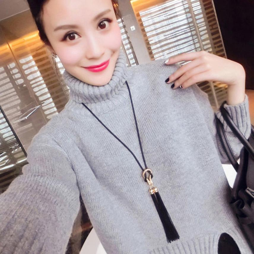 long sweater necklace