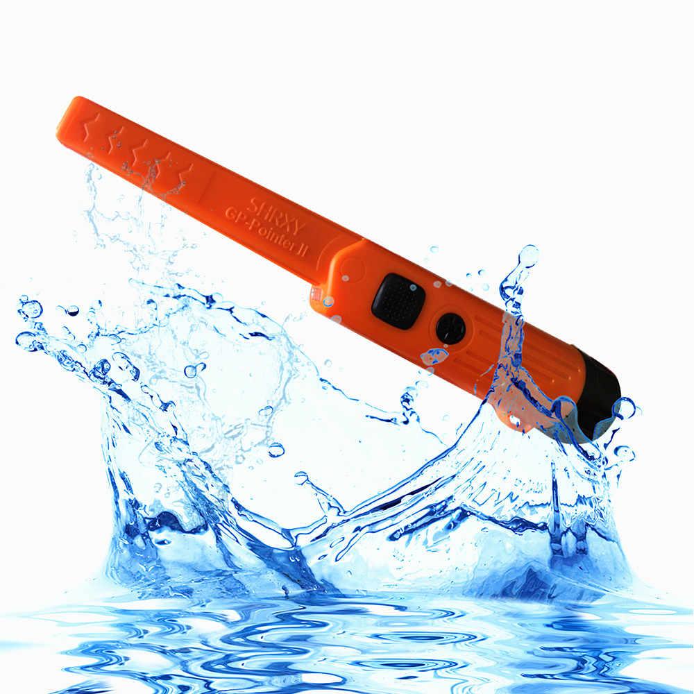 Shrxy GP-pointerII מצביע עמיד למים סטטי שלושה ModesHand גלאי מתכות גלאי מתכות כף trx סופר סורק עם צמיד