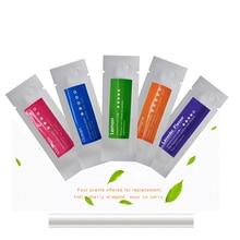 цены на Car Air Freshener Perfume Solid Scent Bars, Aromatic Refills Sticks for Car Diffuser, Fragrant Refills Aromatic Bars (6 pack)  в интернет-магазинах