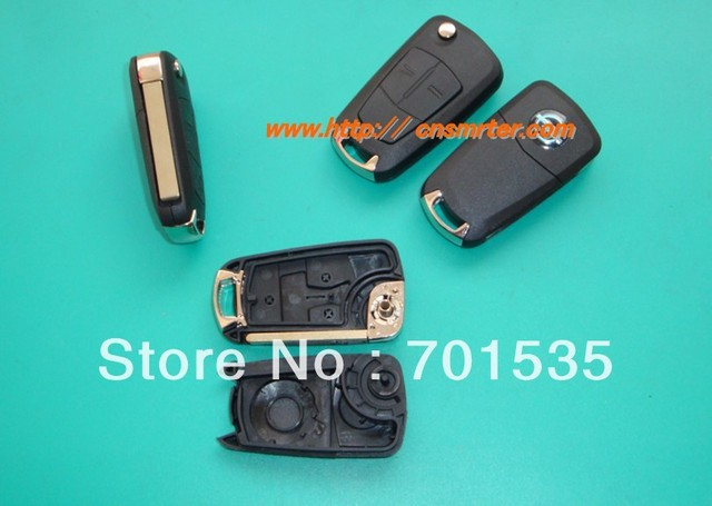 Replacement For Vauxhall Opel Vectra Car Flip Remote Key Blanks