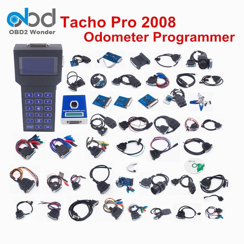 Prix pour 2017 Haute Qualité Tacho Pro Débloqué Outil de Correction D'odomètre Universal Dash Programmeur 2008 Tacho Pro Kilométrage Correction Outil