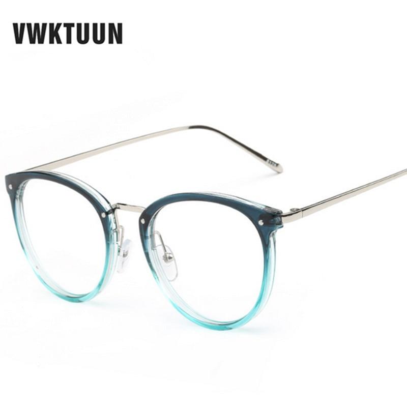 VWKTUUN Nyaste Glasögon Kattögon Glasögon Ramar Vintageglasögon - Kläder tillbehör - Foto 5