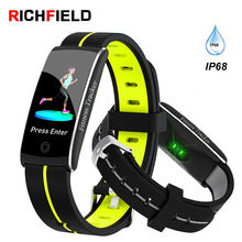 F10C Smart Bracelet IPX8 Waterproof Watch Sleep Sport Band Blood Pressure Smartband Activity Tracker Health Wristband