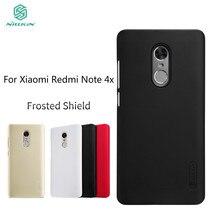 Redmi Note 4X чехол Xiaomi Redmi Note 4X чехол Nillkin Super Frosted Shield жесткий чехол с Бесплатная Экран протектор