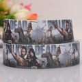 "10yards 7/8""22mm the walking dead printed grosgrain TV ribbon  for gift wrapping / book packaging"