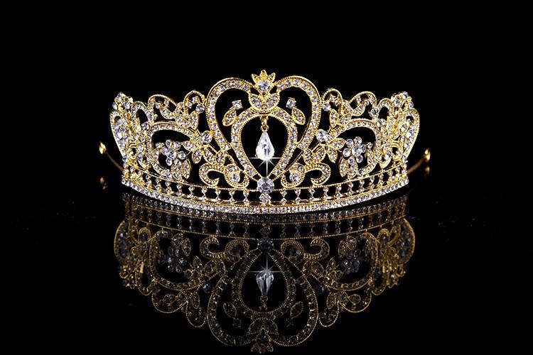HTB1OQnSLXXXXXbtaXXXq6xXFXXXR Glamorous Wedding Pageant Prom Rhinestone Crystal Crown For Women - 5 Colors