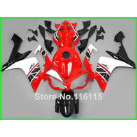 Injection molding fairing kit fit for YAMAHA YZF R1 2007 2008 YZF R1 07 08 red white black custom fairings set OX76