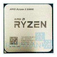 Четырехъядерный процессор AMD Ryzen 3 2300X R3 2300X3,5 ГГц с четырехъядерным процессором YD230XBBM4KAFSocket AM4