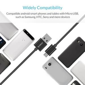 Image 4 - オリコマイクロusbケーブルusb 2.0高速充電ケーブルxiaomi華為、htc lg携帯電話日付同期