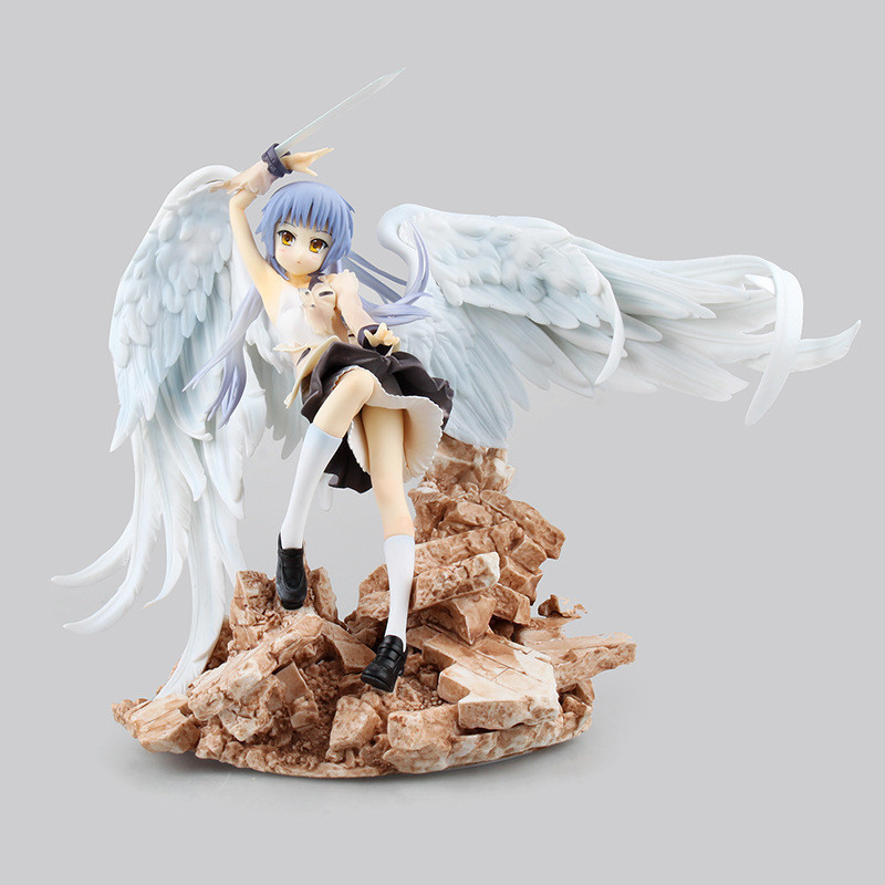 20cm Anime Figurine Angel Beats Tenshi Tachibana Kanade PVC Action Figure Collection Model Toy20cm Anime Figurine Angel Beats Tenshi Tachibana Kanade PVC Action Figure Collection Model Toy