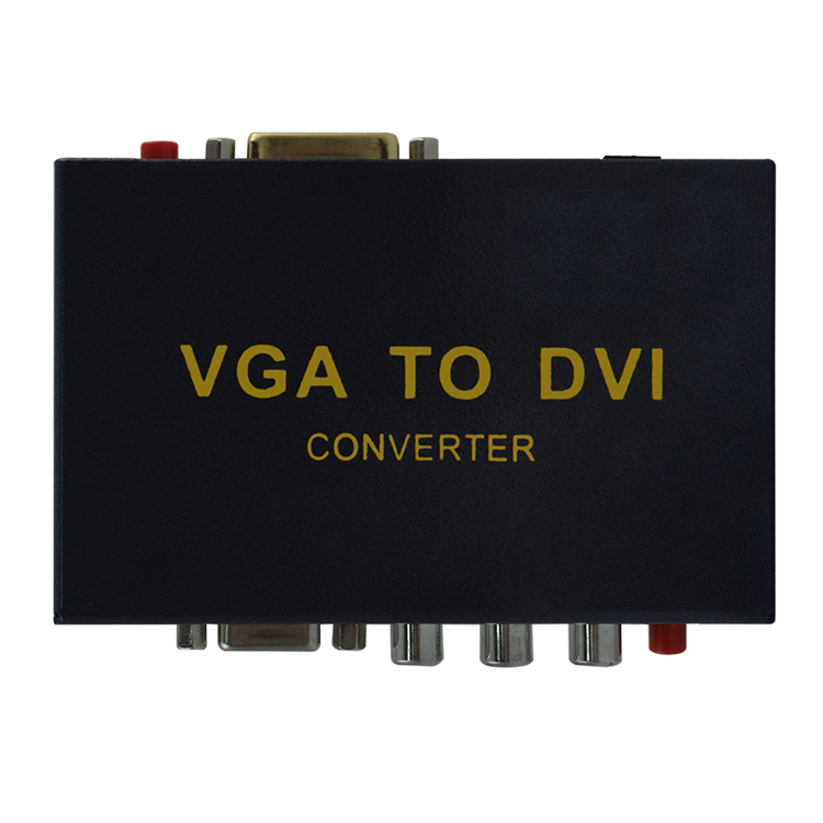 HighTek HK-VTD VGA to DVI converter with YPbPr interface converter, VGA and YPbPr to DVI converter hightek hu 03 universal usb to rs485 422 converter adapter