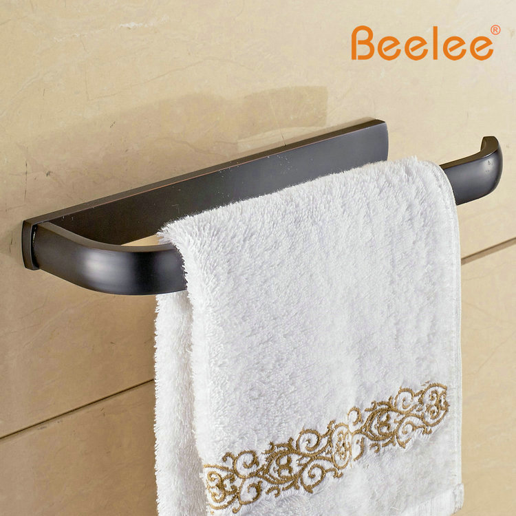 Beelee BL7704B Bathroom Towel Ring,Towel Holder,Towel Bar Brass Black  Brushed Oil Rubbed Bronze Brass Material Towel Ring In Towel Rings From  Home ...