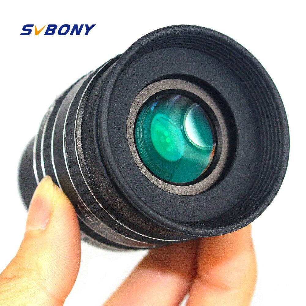 Svbone 1.25 pouces oculaire SWA 58 degrés 2.5mm oculaire planétaire pour télescope d'astronomie jumelles monoculaires W2486A