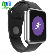 Hestia smart watch v9 uwear sync notifier bluetooth-konnektivität für apple android smartwatch telefon für ios android