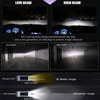 מנורות לרכב נורת LED סופר BraveWay עבור מכוניות לד פנס עבור Auto מנורות 12000LM 80W 12V לרכב אור קרח נורה H1 H4 H7 H11 9005 9006 HB3 BH4 (3)
