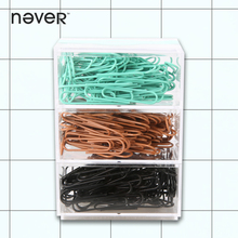 Never Fashion Metal Paper Clips Book Dispenser Office Business Stationery Accessories Creative-gifts Notebook Diary Bookmark