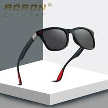 Поляризованные очки Aoron Для мужчин дизайнерские ретро классический мужской езды на автомобиле, солнечные очки, классические, Для женщин модные влияние UV400 Gafas