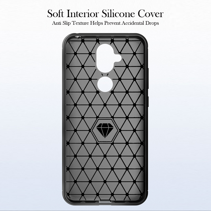 Soft TPU Cases For Nokia 7 1 Plus Case Silicone Coque For Nokia 2 1 3 1 3 5 1 6 6 1 7 8 9 C1 X3 X6 2018 Plus Cover Carbon Fiber in Fitted Cases from Cellphones Telecommunications