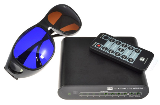 3d converter 1080p hd tv video converter 2d 3d , 2 blue brown