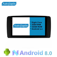 AUTOJIAPIN Eight Core Android 8.0 2G RAM Car Player for Mercedes Benz ML W164 ML300 GL X164 GL320 350 420 450 500 R W251 280