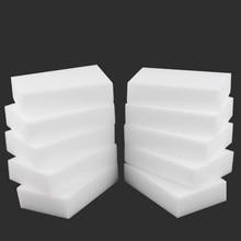 Melamine Sponge Eraser White Kitchen 10PCX 100--60--20mm Multi-Functional Eco-Friendly