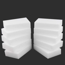 10PCX Melamine Sponge White Magic Sponge Eraser Melamine Cleaner Multi-Functional Eco-Friendly Kitchen Magic Eraser 100*60*20mm(China)
