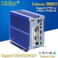 Minisys Малый компьютер Linux Kaby Lake 3865u безвентиляторный промышленная плата мини ПК Dual Lan встроенный SIM Слот с серийный com порты и разъёмы