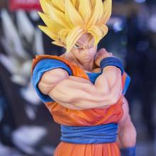 22cm Dragon Ball Z Goku Action Figure PVC Collection Model t